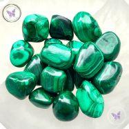 Malachite Tumble Stone